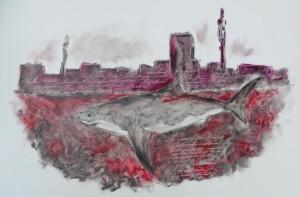 Great white shark of Joburg
