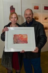 Sarah Britten and Roland Reid