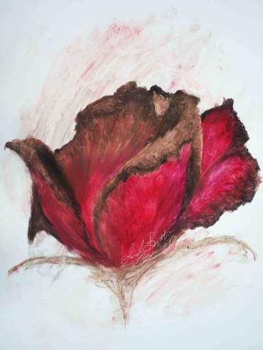 Dying Rose I