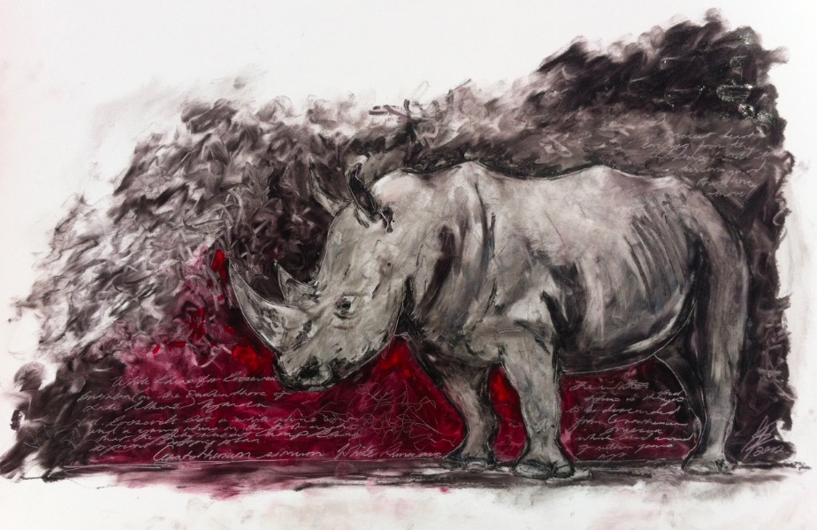 A new rhino to help keep the real ones in safe hands